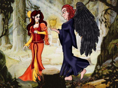 [Commission] Biancaluna & Crowley Sketch